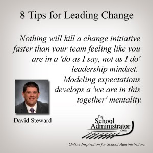 8 Tips for Leading Change – David Steward