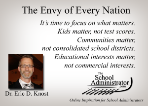 The Envy of Every Nation – Dr. Eric D Knost