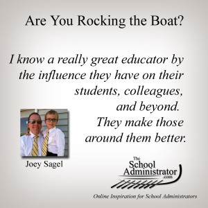 Are You Rocking the Boat? – Joey Sagel