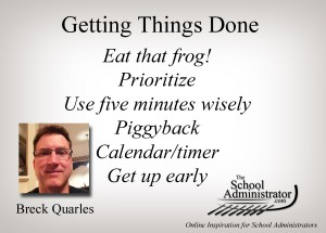 Getting Things Done – Breck Quarles