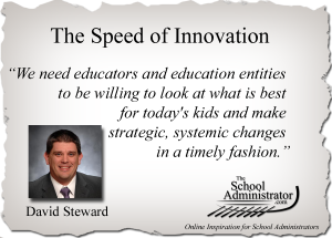 The Speed of Innovation  – David Steward