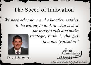 The Speed of Innovation  – David Steward